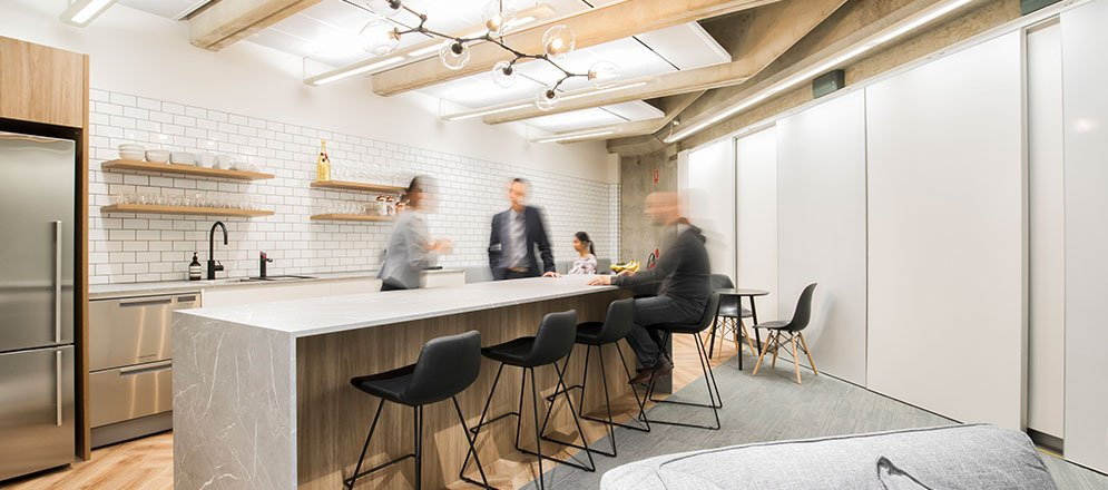 Elanor Investments office fitout