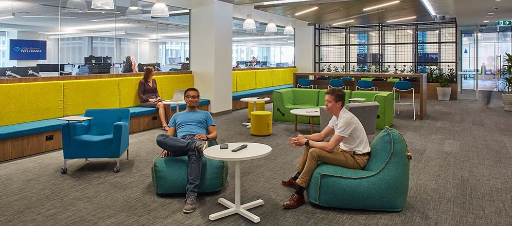 LogMeIn office fitout