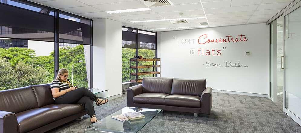 Brisbane office fitout