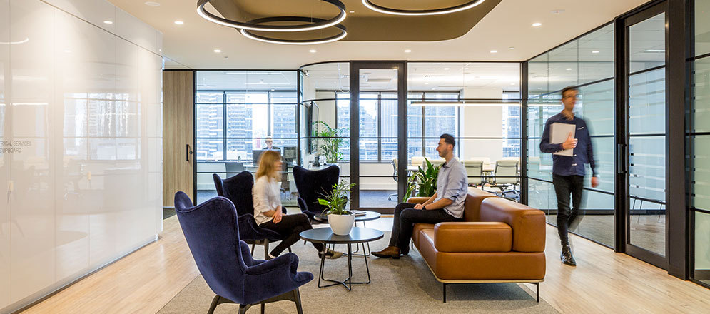 Brandon Capital office fitout